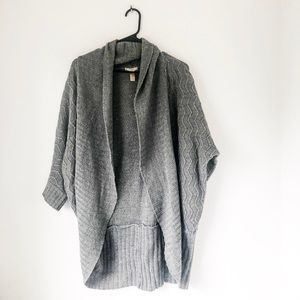 Ambiance apparel open front  3/4 sleeve cardigan